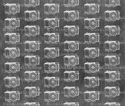 Retro Camera Chalkboard