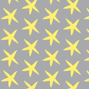 Starfish Gray and Yellow
