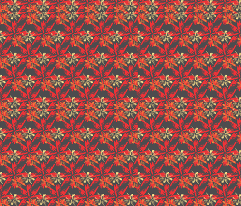 Arrowhead -Red fabric by 3o'clockbadger on Spoonflower - custom fabric