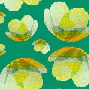 Emerald cherry blossom