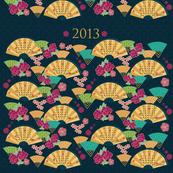 2013 Oriental fans