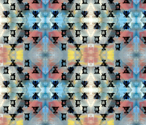 buzz life fabric by nascustomwallcoverings on Spoonflower - custom fabric
