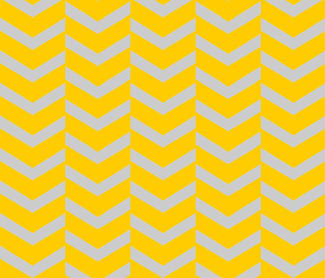 arrow gold fabric by luluhoo on Spoonflower - custom fabric