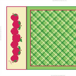 Red Apples Tea Towel