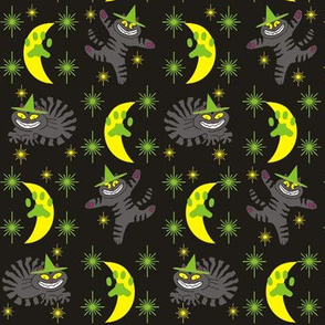Magical Mr. Midnight in Charcoal, Lime, &amp; Black