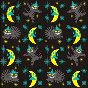 Magical Mr. Midnight in Charcoal, Teal, &amp; Black