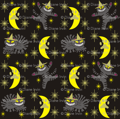 Magical Mr. Midnight in Charcoal, Gold, & Black