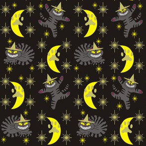 Magical Mr. Midnight in Charcoal, Gold, &amp; Black
