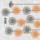 2013 Dandy Tea Towel Calendar