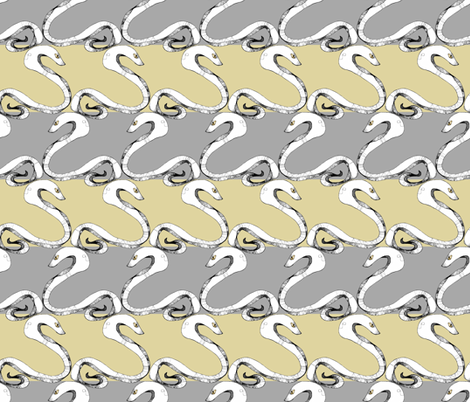 Snake Stripes fabric by pond_ripple on Spoonflower - custom fabric