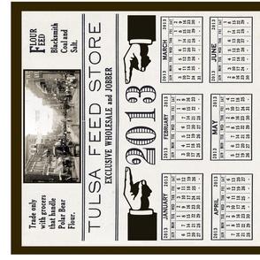 2013 feed store calendar