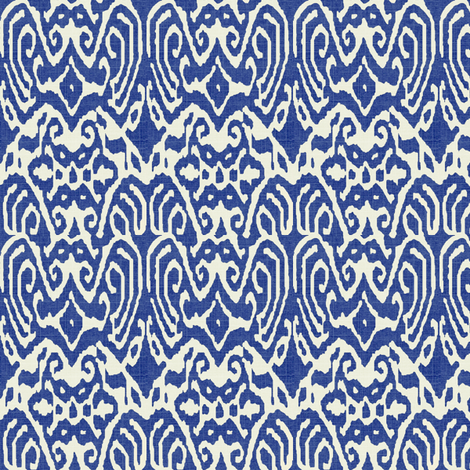 Faded Ikat fabric by ragan on Spoonflower - custom fabric