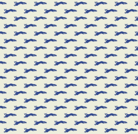 Le Renard fabric by ragan on Spoonflower - custom fabric