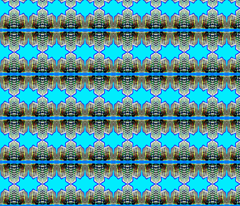 City Reflections fabric by robin_rice on Spoonflower - custom fabric