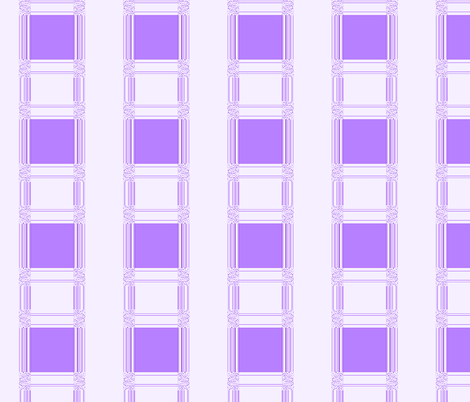 Plum and White Squares © Gingezel™ 2013