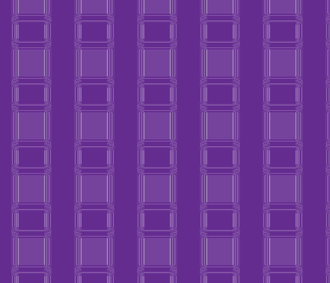 Plum on Plum Stripe © Gingezel™ 2012 fabric by gingezel on Spoonflower - custom fabric