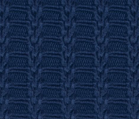 navy_sweater_trim_stripe_fixed fabric by victorialasher on Spoonflower - custom fabric
