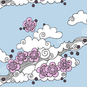 japanese_clouds_and_blossom-pink