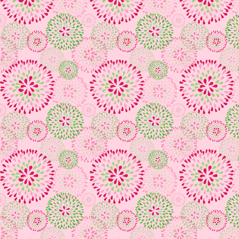 Pixie Puff fabric by kari_d on Spoonflower - custom fabric