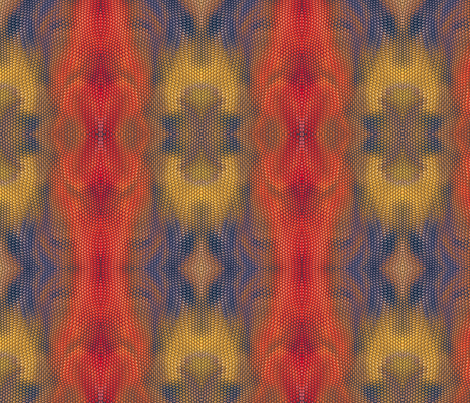 Reptile Skin 5 fabric by animotaxis on Spoonflower - custom fabric