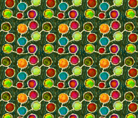 Holiday Ornaments Decorating the Tree fabric by wren_leyland on Spoonflower - custom fabric
