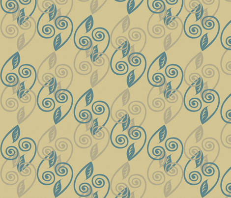 tendrils fabric by glimmericks on Spoonflower - custom fabric