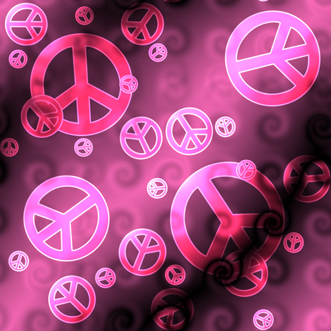 Pink peace sign wallpaper pink and black peace signs