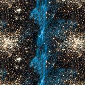 Alernate Blue Galaxy Print