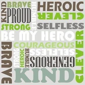 Heroic words