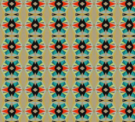 de la serie diamante fabric by claudia_vivero on Spoonflower - custom fabric