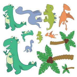 Dinosaur Decals 30 in