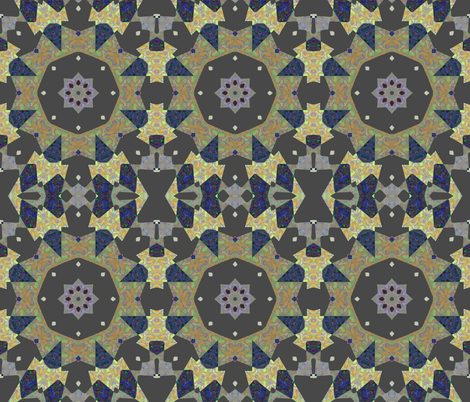 Prairie Wagon Wheels fabric by anniedeb on Spoonflower - custom fabric