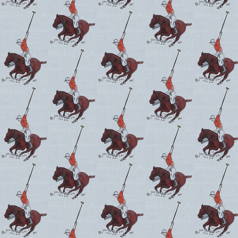 pologreytexture65 fabric by ragan on Spoonflower - custom fabric