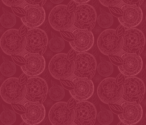 Kerchief in Cranberry fabric by kari_d on Spoonflower - custom fabric