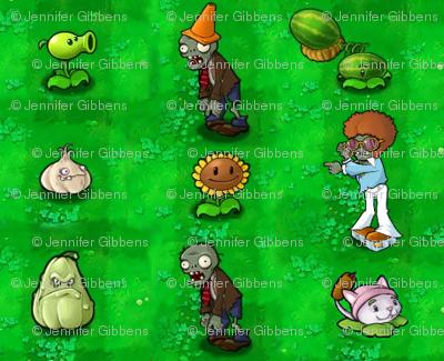 Plants versus Zombies Characters