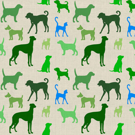 dogstexture60 fabric by ragan on Spoonflower - custom fabric