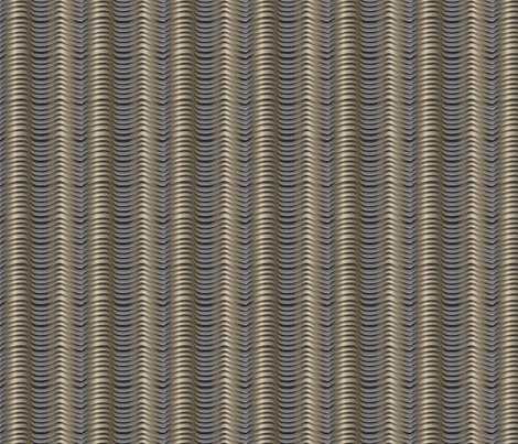 metalwaves fabric by glimmericks on Spoonflower - custom fabric
