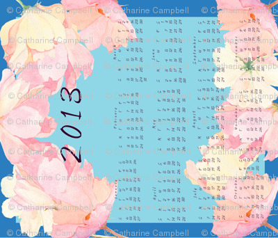 Cosmos calendar 2013