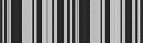 Linen uneven stripe black and white