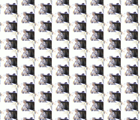 Cow Chuckles fabric by krussimages on Spoonflower - custom fabric