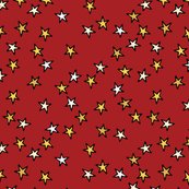 comic stars red