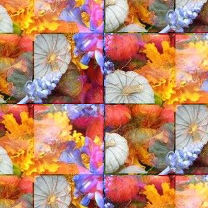 Pumpkins and Fall Flowers 3