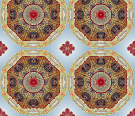 VINTAGE CAROUSEL fabric by allyme on Spoonflower - custom fabric