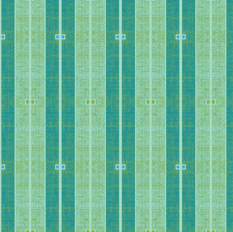 Ode to Deco -  stone washed blues with green highlights fabric by materialsgirl on Spoonflower - custom fabric