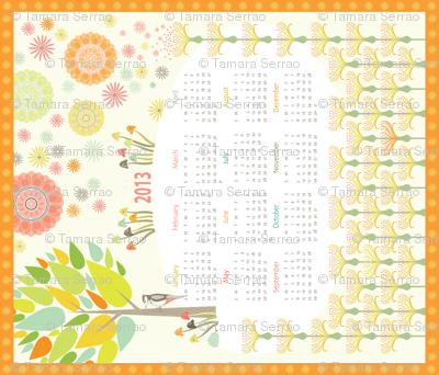 2013 Woodpecker Meadow Calendar