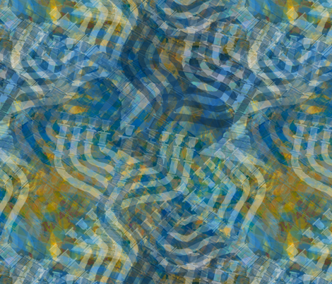 light--tiled-menorah fabric by wren_leyland on Spoonflower - custom fabric