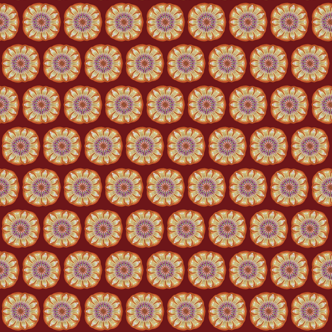 Winter_Flower_2___small_half-brick fabric by fireflower on Spoonflower - custom fabric