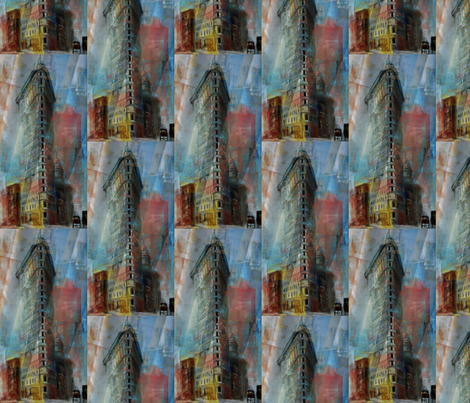 Flat_Iron-ed fabric by wsmahoney on Spoonflower - custom fabric