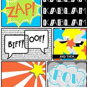 biff! oof! pow!
