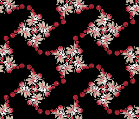 Red & sweet fabric by alfabesi on Spoonflower - custom fabric